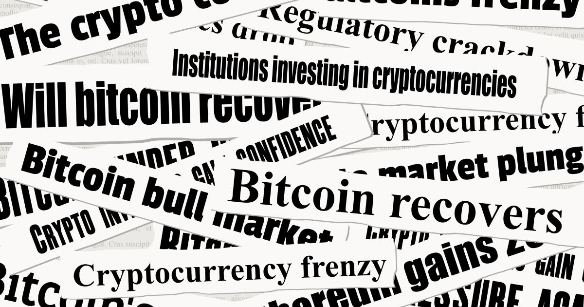 Crypto headlines