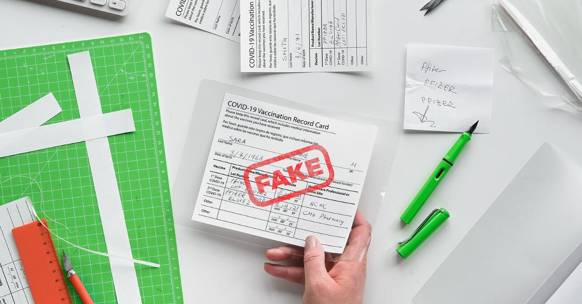Fake Vaccine Passport